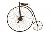 stock photo of penny-farthing  - Shot of a vintage penny - JPG