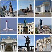 Landmarks Of Odessa poster