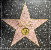 Douglas Fairbanks Star On Hollywood Walk Of Fame
