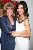 LOS ANGELES - APR 4:  Annie J. Dahlgren, Finola Hughes attends the gala fundraiser for the romantic