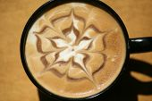 foto of latte  - Latte Art - JPG