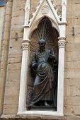 Florence - Church of Orsanmichele. St. John the Evangelist