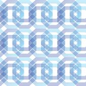image of octagon shape  - geometric seamless pattern of octagons - JPG
