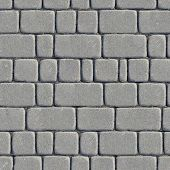 stock photo of slab  - Seamless Tileable Texture of Paving Slabs - JPG