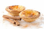 foto of pasteis  - Pasteis de nata typical pastry from Lisbon  - JPG