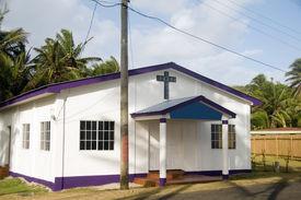 picture of tabernacle  - Big Corn Island Nicaragua - JPG