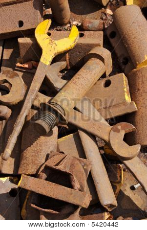 Rusty Mechanic Tools