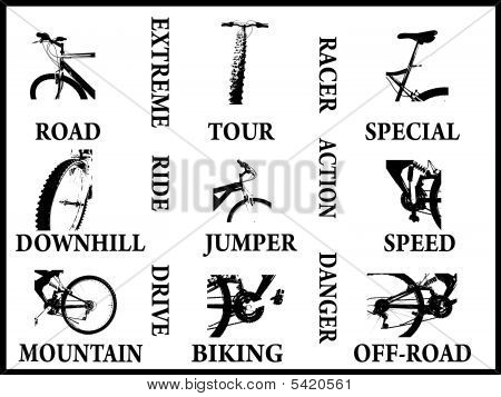 Images And Words Strictly In Conjuction With Biking