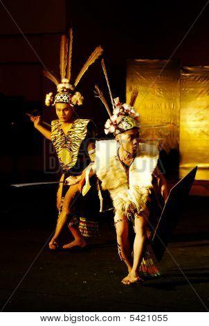Iban Warrior Dance