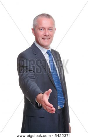 Businessman Hand Shake