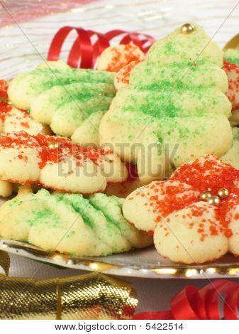 Xmas Spritz Cookies