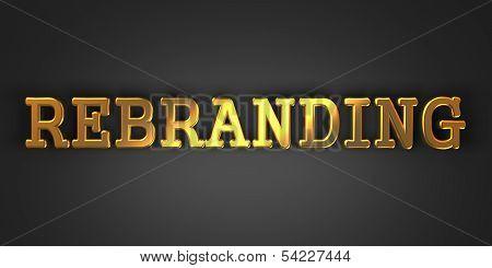 Rebranding. Business Concept.