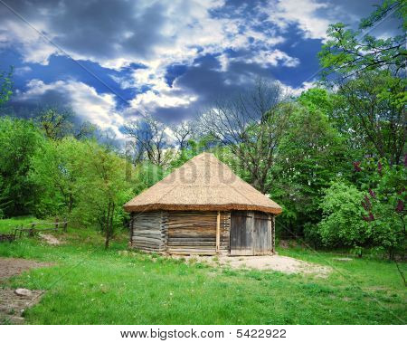 Cabin Of Poor Peasant