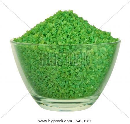 Green Bath Salt
