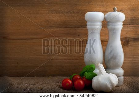 Condiments, Herbs And Flavouring For The Cook