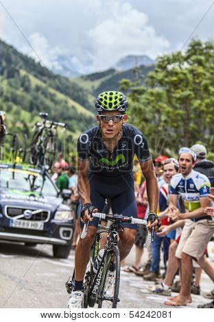 Andrey Amador Climbing Alpe D'dhuez