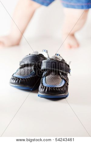 first baby shoes