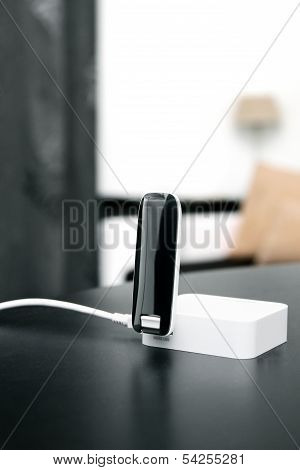 3G 4G Mobile Internet Wireless Router On The Table