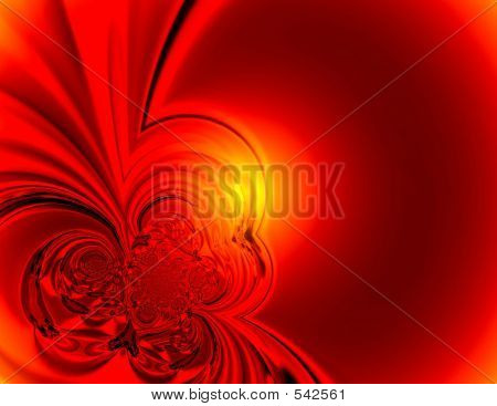 Red Glow Background