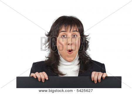 Surprised Business Woman