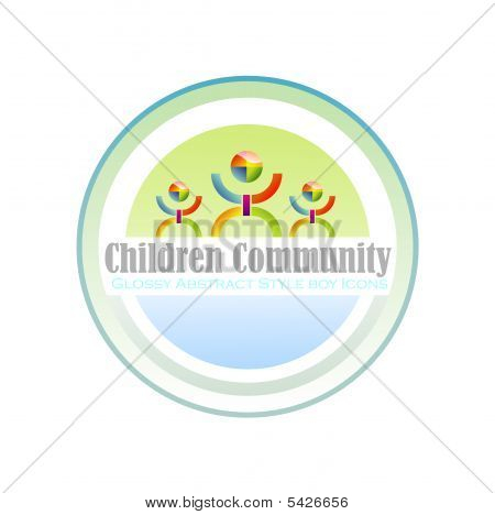 Community Children Symbol