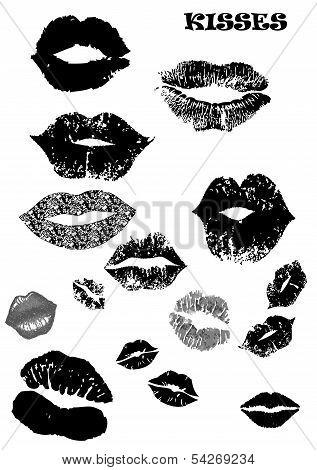Vector Kisses