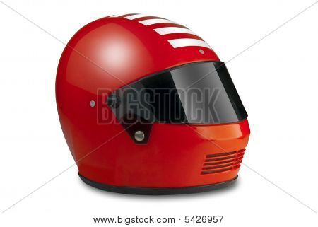 Helmet With Clipping Path