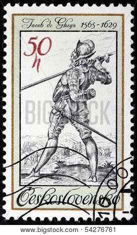 Jacob De Gheyn Stamp