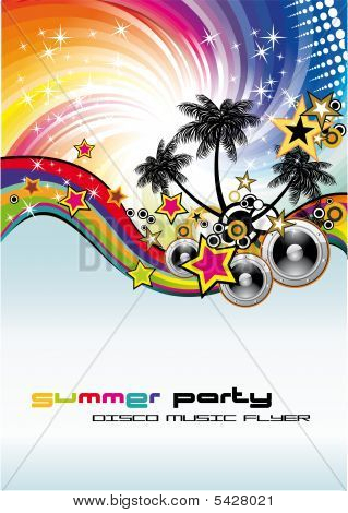 Music Event Discoteque Flyer