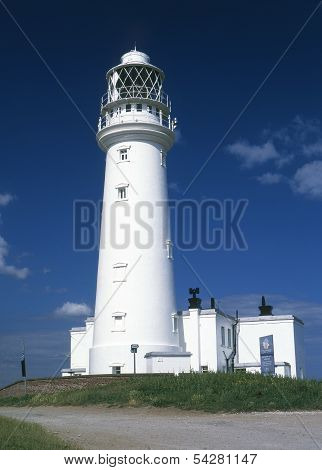 Flamborough Lighthouse.