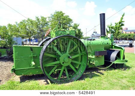 A Very Old Steam Roller