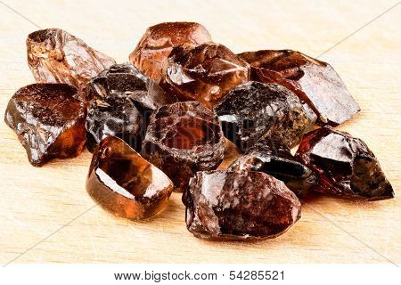 Natural Zircon Crystals