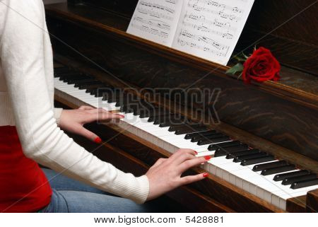 Woman Pianist