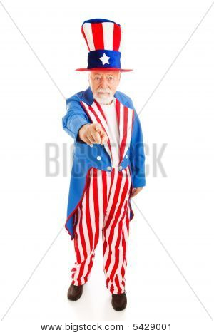 Uncle Sam Wants You - Full Body