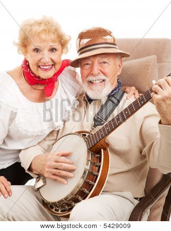 Senior Country Music Couple