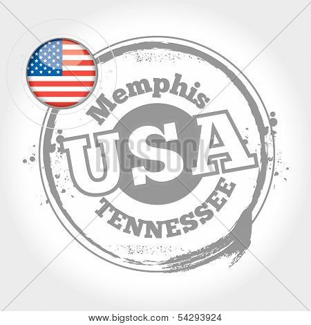 stamp Memphis