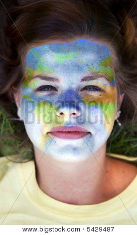 Face Paint - World