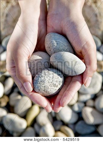 Rocks In Hands