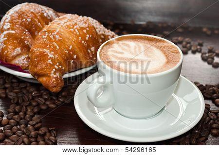 Brioches E Cappuccino