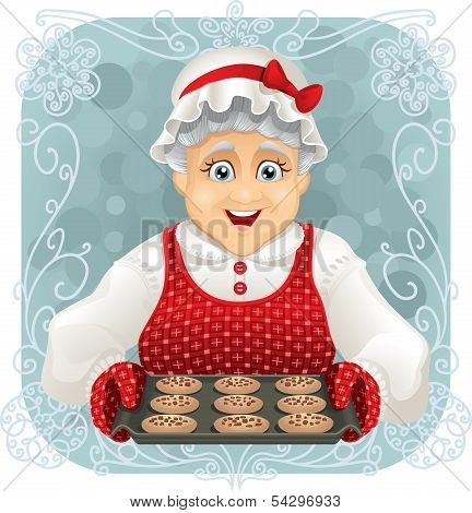Granny Baked Some Cookies.eps