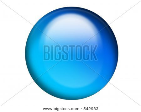 Aqua Orb Button