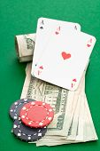 Постер, плакат: Cash Poker