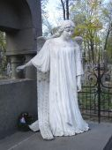 picture of cherubim  - The statue of angel in Kiev Ukraine - JPG