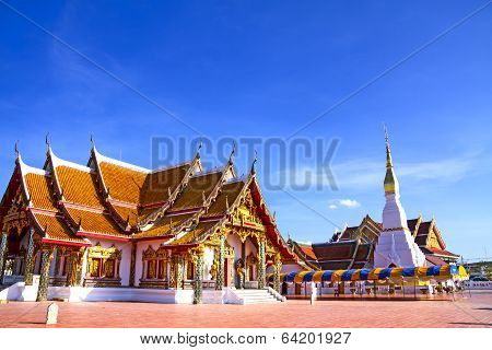 Temple With Blue Sky