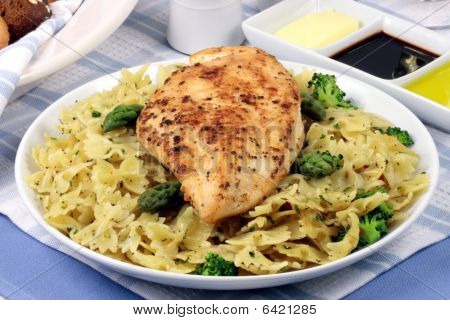 Pasta And Chicken Breast Meal