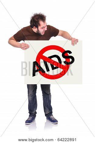 Stop Aids Symbol