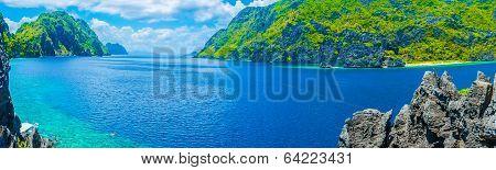 Panorama Of Sea Gulf