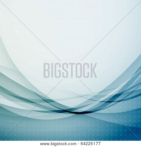 Abstract Wave Swoosh Modernistic Background