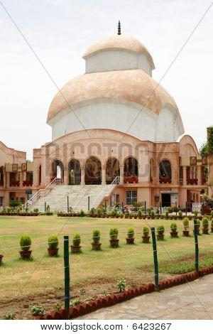 O Templo de Kali Mandir em Cr Parque (Ronaldo) em do Sul New-Deli
