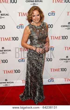 NEW YORK-APR 29: TV host Katie Couric attends the Time 100 Gala for the Most Influential People in the World at the Frederick P. Rose Hall at Lincoln Center on April 29, 2014 in New York City.